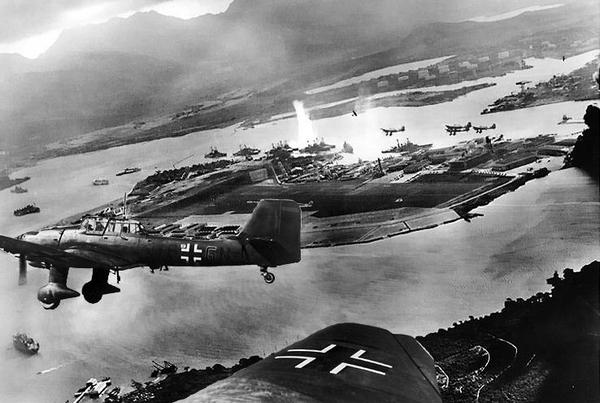 Germans attack Pearl Harbor 2