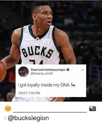 Image result for Giannis loyalty is in my dna