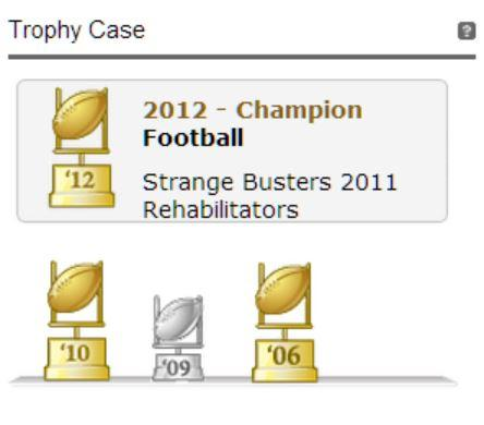 rehabs yahoo trophies